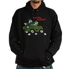 Beetle and Sarge in Jeep Hoodie (dark)