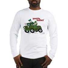 Beetle and Sarge in Jeep Long Sleeve T-Shirt
