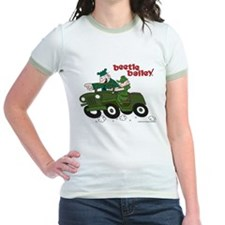 Beetle and Sarge in Jeep Jr. Ringer T-Shirt