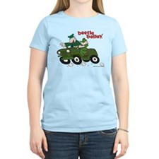 Beetle and Sarge in Jeep Women's Light T-Shirt