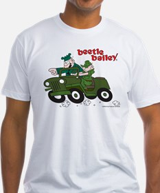 Beetle and Sarge in Jeep Shirt