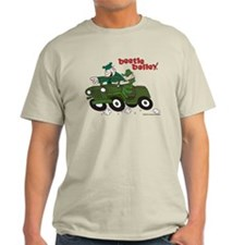 Beetle and Sarge in Jeep Light T-Shirt
