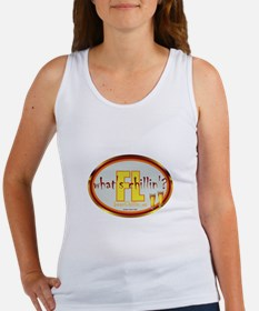 Cute Grillin and chillin Women's Tank Top