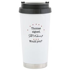 Thomas Nelson Jr. Travel Mug