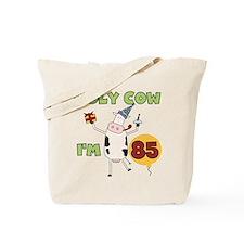 Cow 85th Birthday Tote Bag