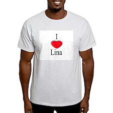 Lina Ash Grey T-Shirt