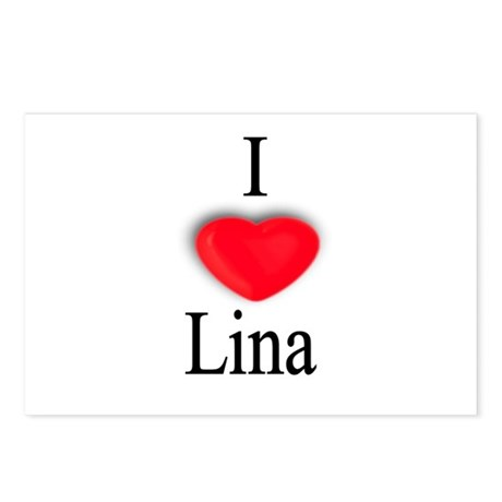 Lina Postcards (Package of 8)