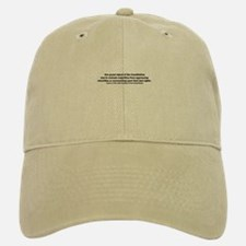James K. Polk Quote Baseball Baseball Cap