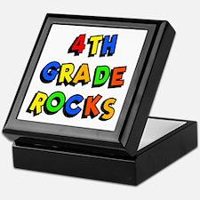 4th Grade Rocks Keepsake Box
