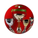 Trophy Husband Ornament (Round)