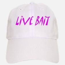 Live Bait Baseball Baseball Cap