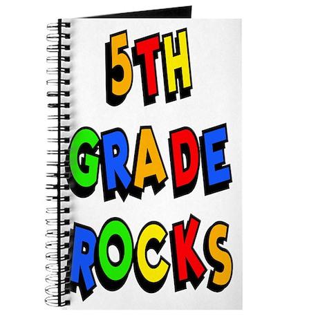 5th Grade Rocks Journal