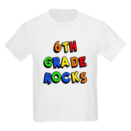 6th Grade Rocks Magnet by minddesigngrafx |Sixth Grade Rocks