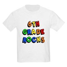 6th Grade Rocks T-Shirt