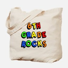 6th Grade Rocks Tote Bag