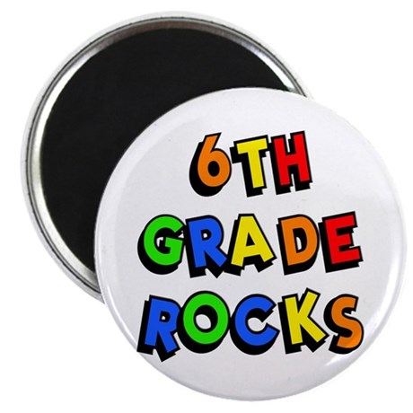 6th Grade Rocks Keepsake Box by minddesigngrafx |Sixth Grade Rocks