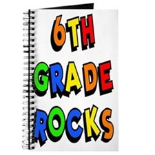 6th Grade Rocks Journal