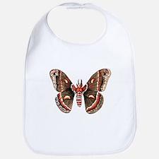 Cecropia Moth Bib