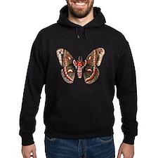 Cecropia Moth Hoodie