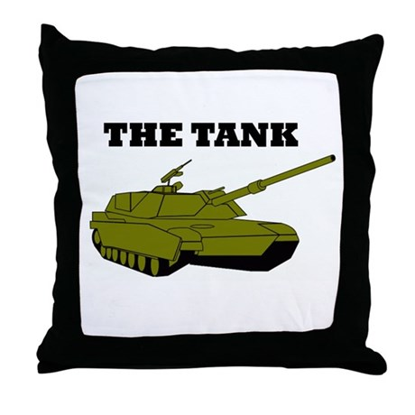 The Tank Throw Pillow