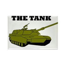 The Tank Rectangle Magnet