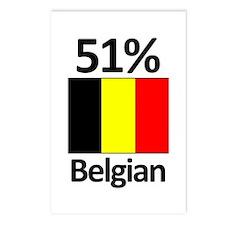 51% Belgian Postcards (Package of 8)