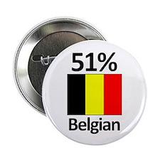 "51% Belgian 2.25"" Button (100 pack)"