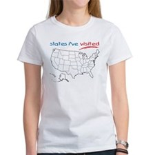 States I've Visited Tee