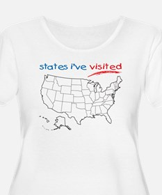 States I've Visited T-Shirt