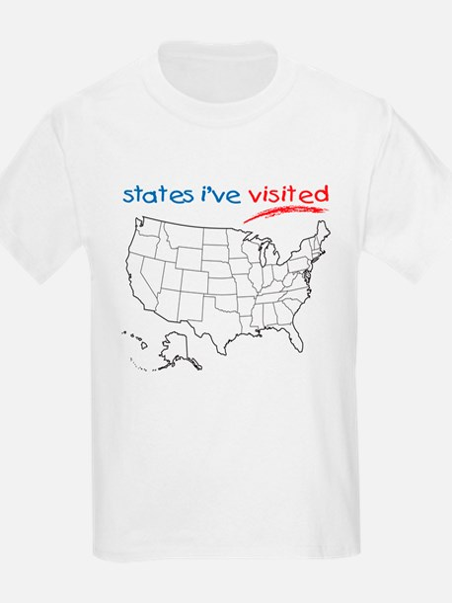 States I've Visited T-Shirt