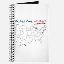States I've Visited Journal