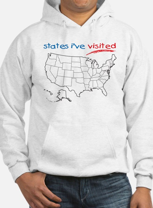 States I've Visited Hoodie
