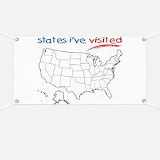 States I've Visited Banner