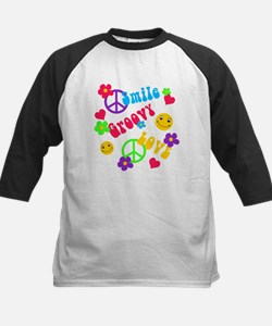 Smile Groovy Love Peace Tee
