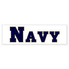 """""""Navy Blue"""" Bumper Bumper Sticker"""