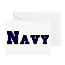 """""""Navy Blue"""" Greeting Cards (Pk of 20)"""