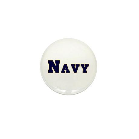 """Navy Blue"" Mini Button (10 pack)"