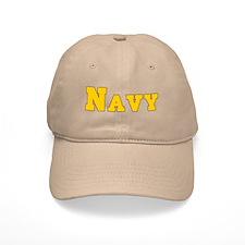 """Navy Gold"" Baseball Cap"