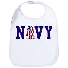 """""""Navy Bold"""" Bib"""