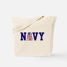 """""""Navy Bold"""" Tote Bag"""