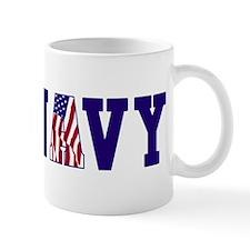 """Navy Bold"" Mug"
