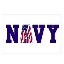 """""""Navy Bold"""" Postcards (Package of 8)"""