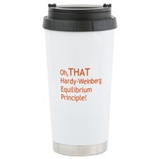 THAT Hardy-Weinberg Travel Mug