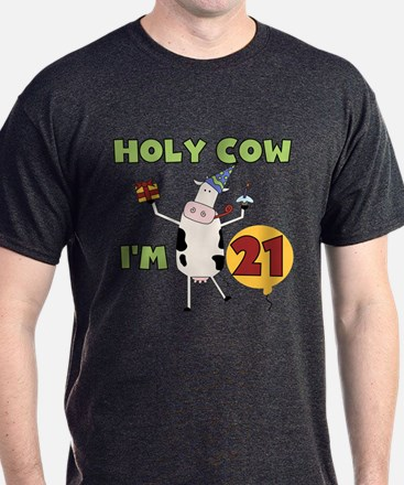 Cow 21st Birthday T-Shirt