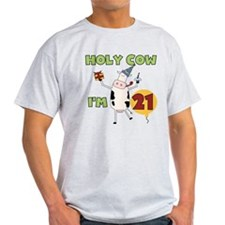 Cow 21st Birthday T-Shirt