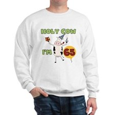Cow 65th Birthday Sweatshirt