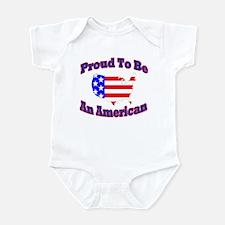 T-Shsirt Proud American Body Suit