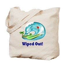 Cute Wipe out Tote Bag