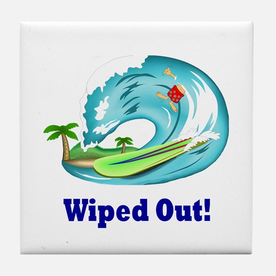 Cool Wipe out Tile Coaster