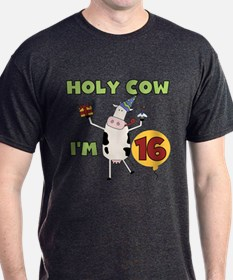 Cow 16th Birthday T-Shirt
